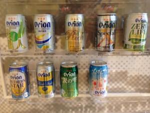 오키나와 오리온 맥주 벚꽃 한정판